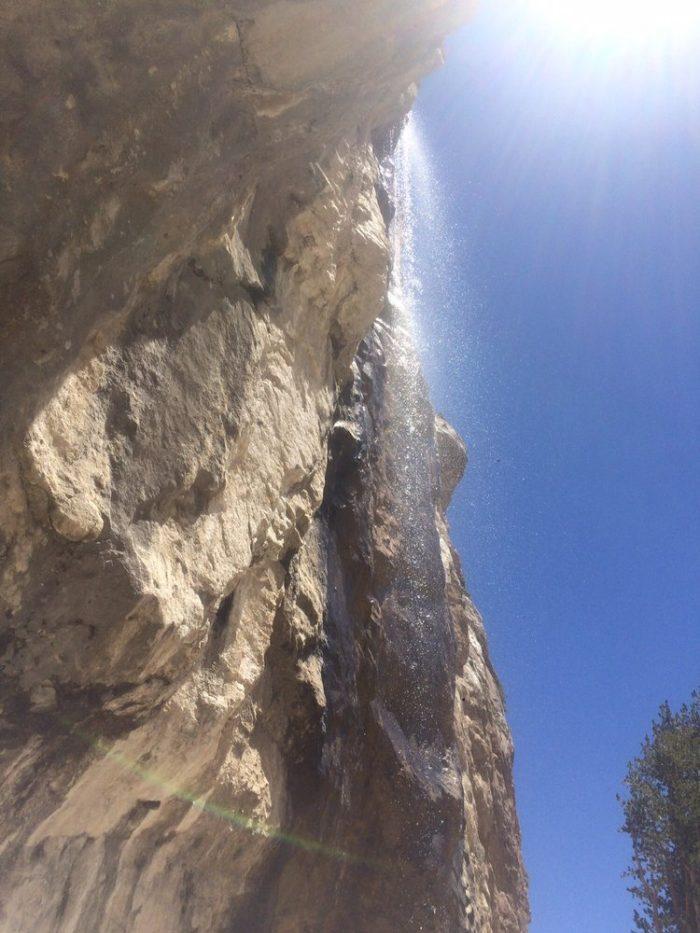 Las Vegas hidden waterfalls