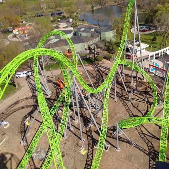 7. Ride the Monster roller coaster at Adventureland.