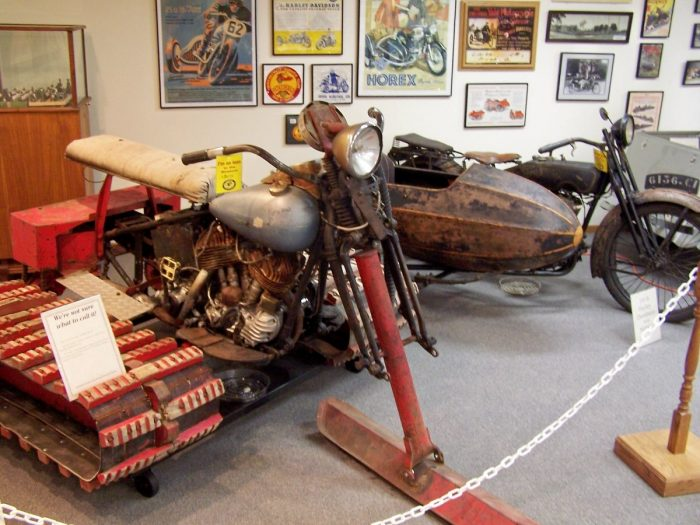 9. See an amazing collection of motorcycles at the National Motorcycle Museum.