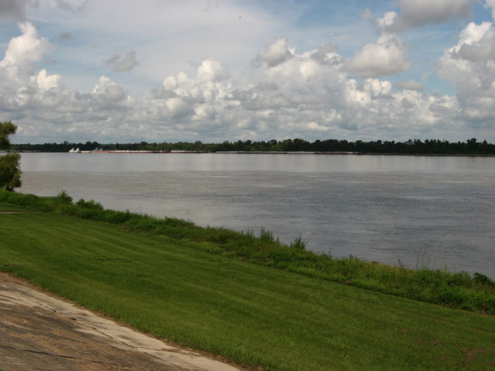 1) Mississippi River Levee Uptown