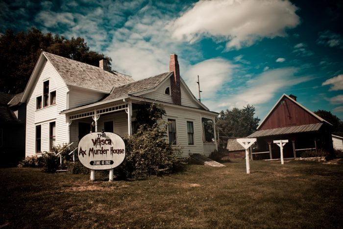 11. Spend the night in The Villisca Axe Murder House.