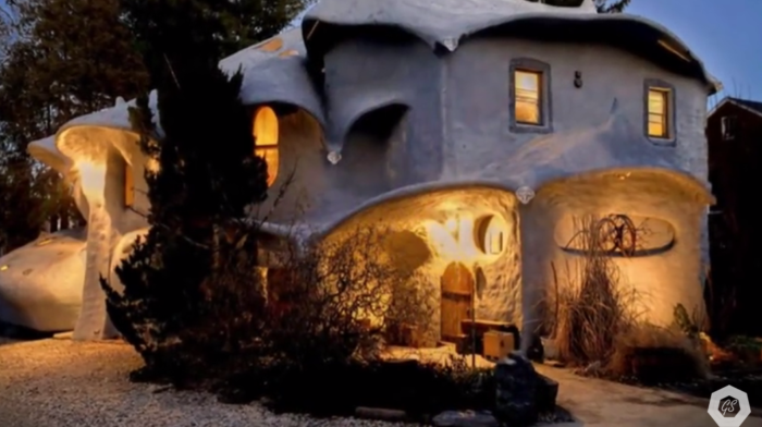 12. The Mushroom House