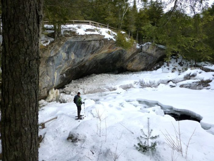 If you can't make it out to Natural Stone Bridge and Caves this summer then don't worry, you could always take a Winter Tour!