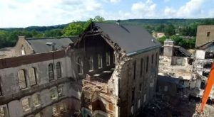 What This Drone Footage Captured At This Abandoned New Jersey Asylum Is Truly Grim