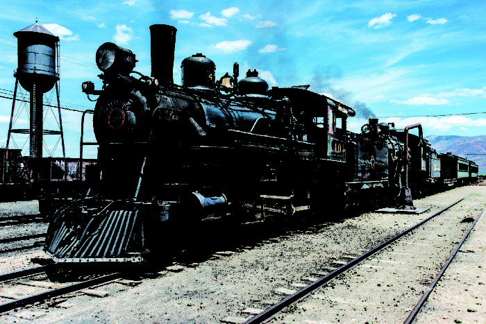 18. Ride an authentic, historic train.