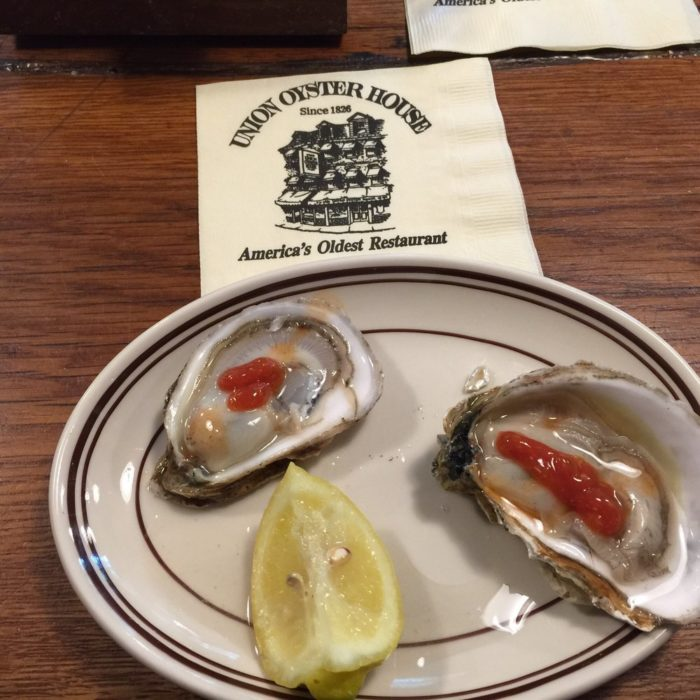 And, of course, the oysters aren't too shabby.