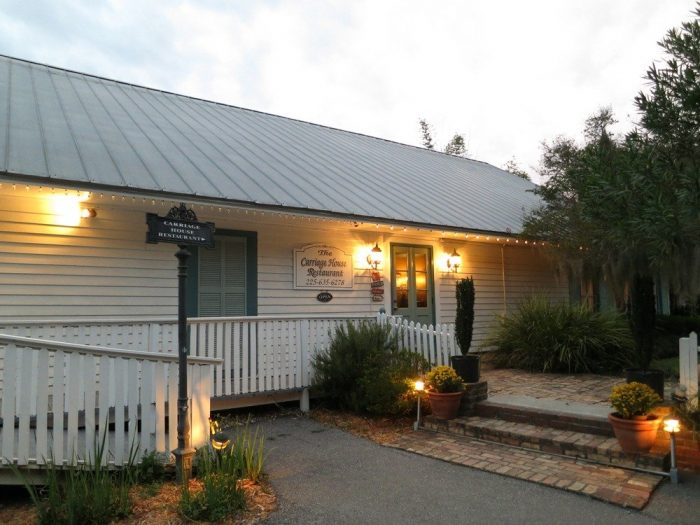 9. The Carriage House Restaurant at The Myrtles Plantation, 7747 US Hwy 61 N, St. Francisville