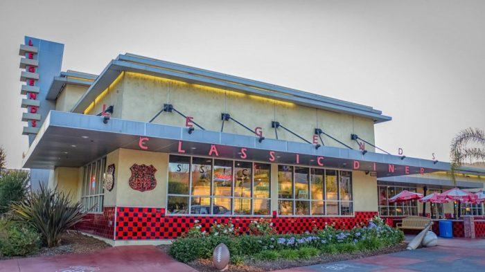 1. Legends Classic Diner -- Glendora