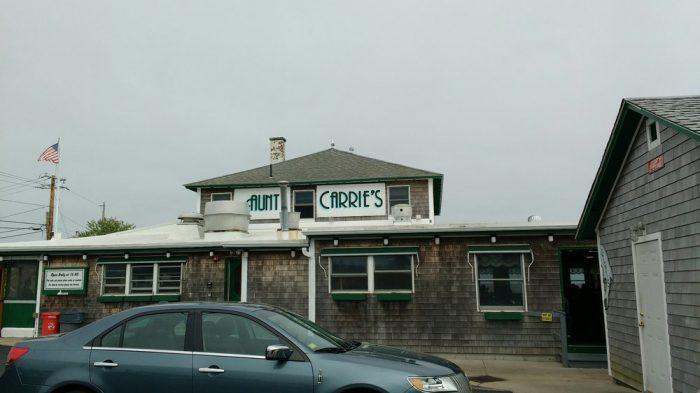 10. Aunt Carrie's, Narragansett