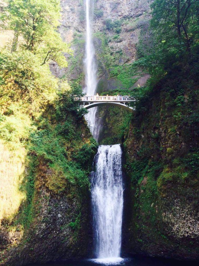 2. Multnomah Falls