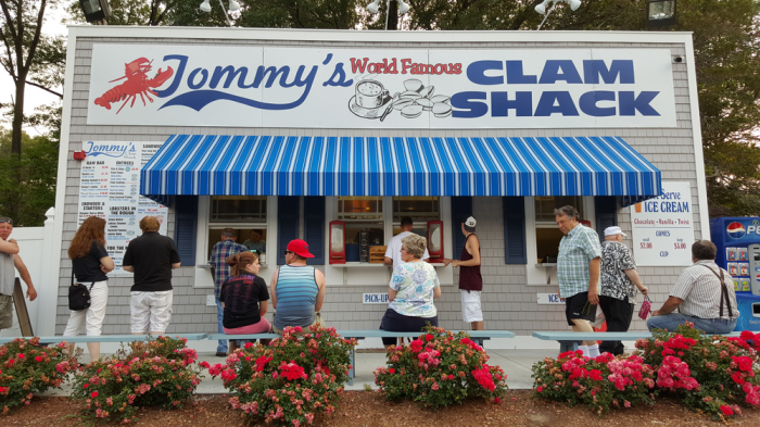 5. Tommy's Clam Shack, Warwick