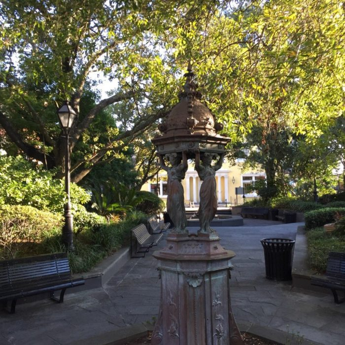 9) Latrobe Park, The End of the French Market