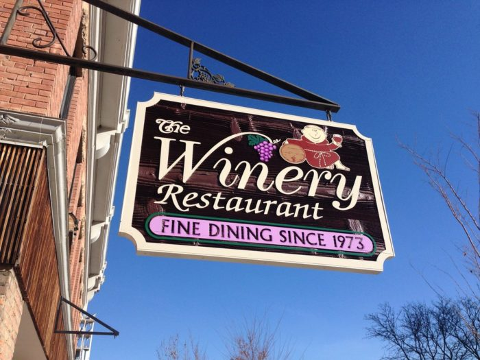 1. The Winery Restaurant (Grand Junction)