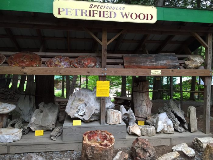 You'll find plenty of things to see and do at this Adirondack attraction. Make sure you check out the Rock Shop!
