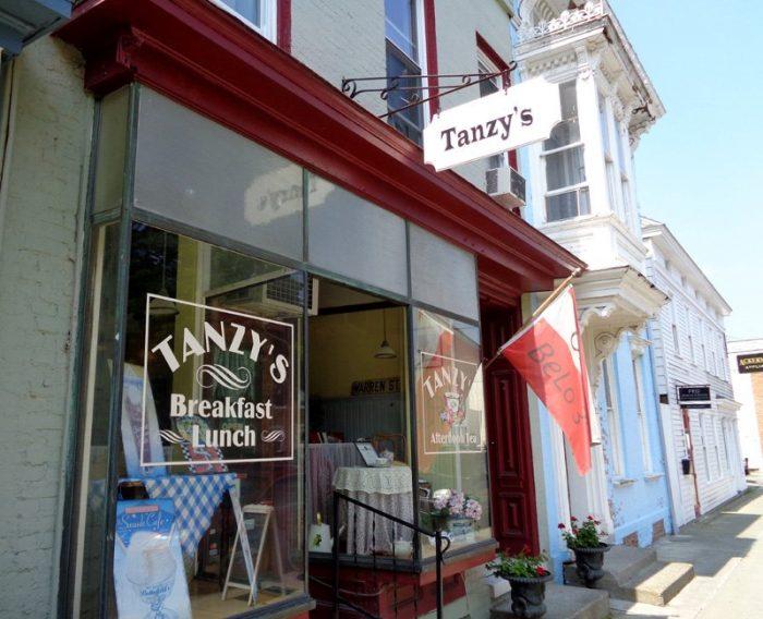 6. Tanzy's, Hudson