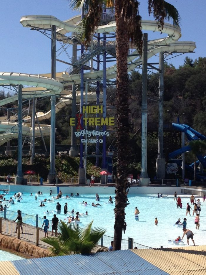 7. Spend a day at the water park