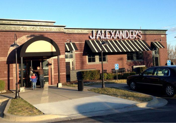 8. J. Alexander's (Overland Park)