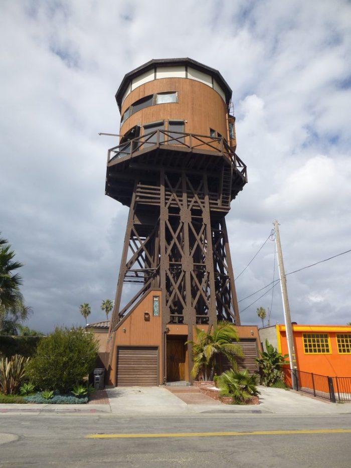 4. Sunset Beach Water Tower