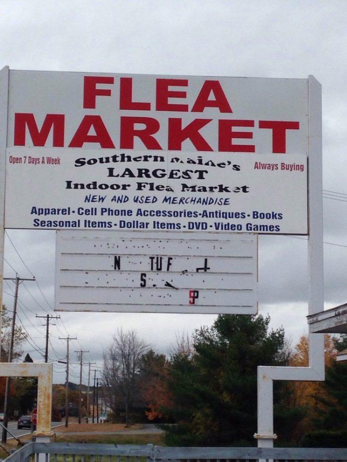 4. Southern Maine Indoor Flea Market, Scarborough