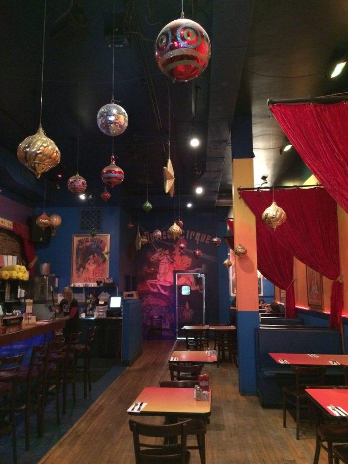 3. Circus Cafe, Saratoga