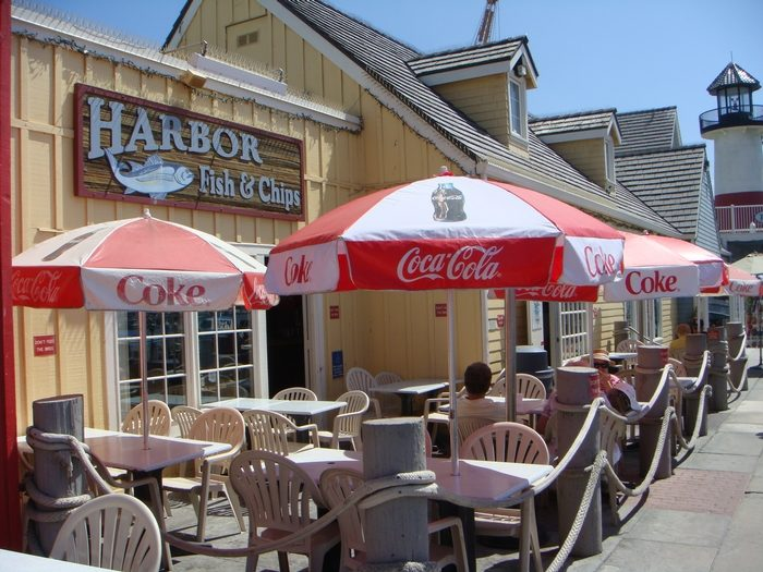 4. Harbor Fish and Chips -- Oceanside
