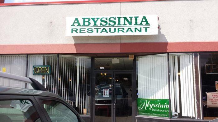 3. Abyssinia Restaurant, Rochester