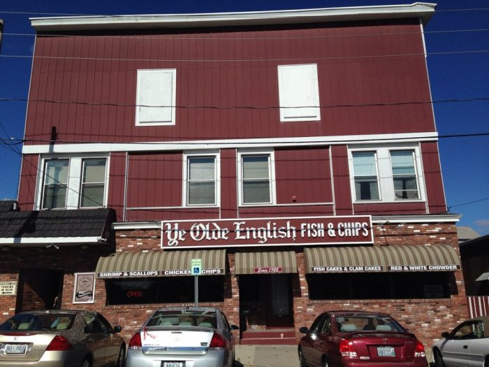 8. Ye Olde English Fish & Chips, Woonsocket