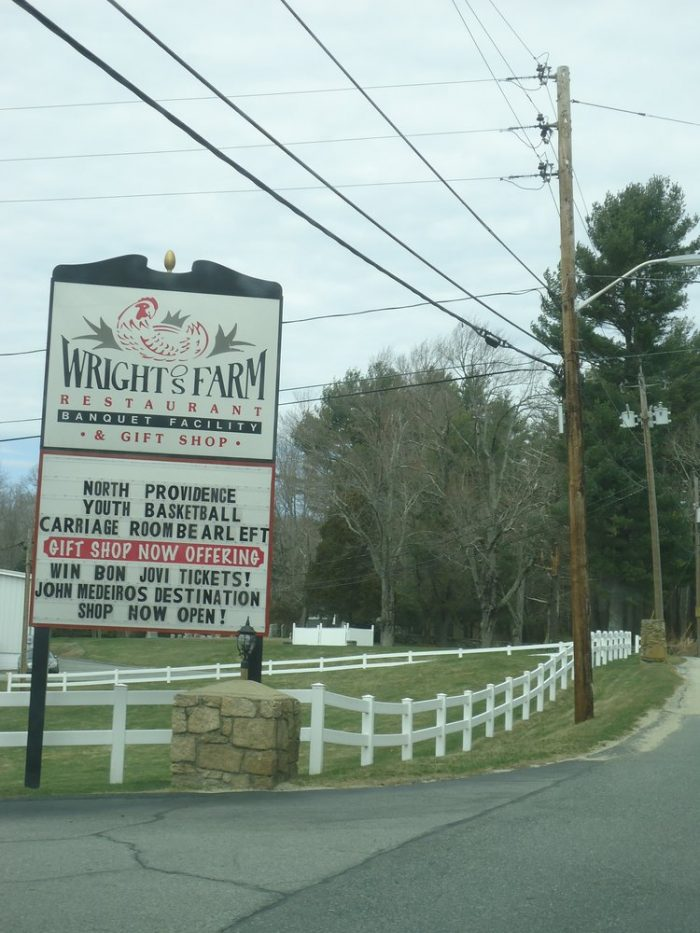 13. Visit Wright's Farm in Harrisville.