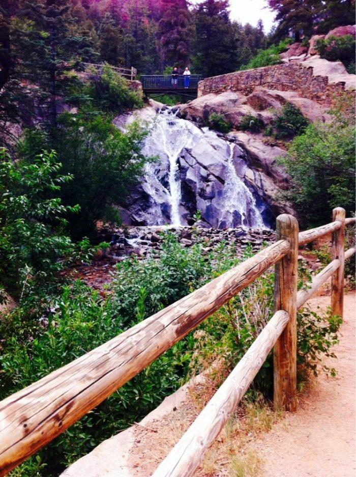 4. Helen Hunt Falls (Colorado Springs)