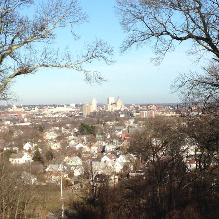 4. Once you've made it to the top of the hill, the view of Providence is breathtakingly beautiful.