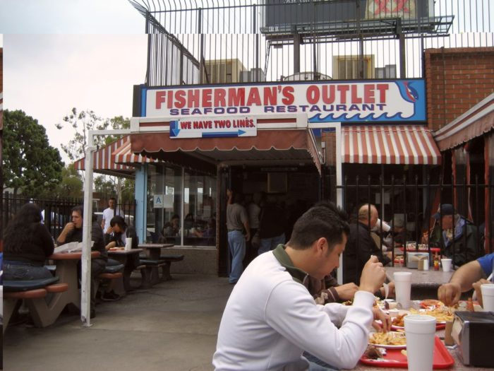 1. Fisherman's Outlet -- Los Angeles