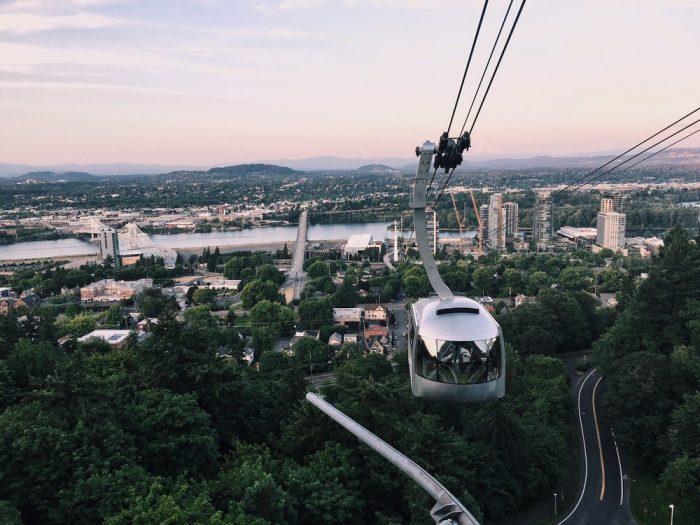 7. Portland Aerial Tram