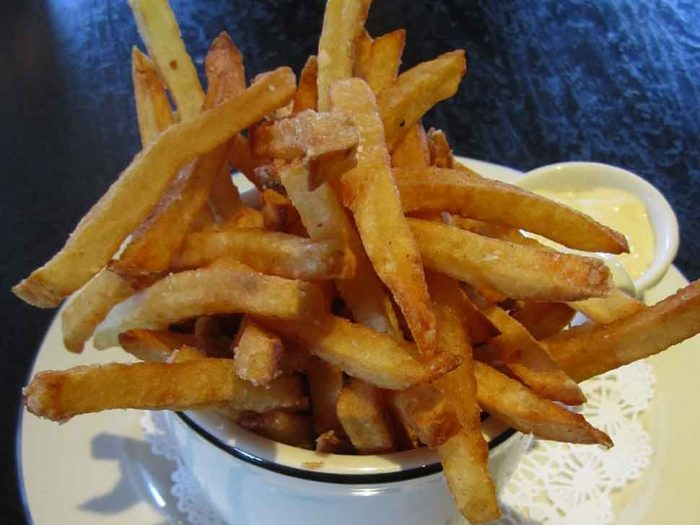 4. Frites and Aioli (Cafe Routier, Westbrook)