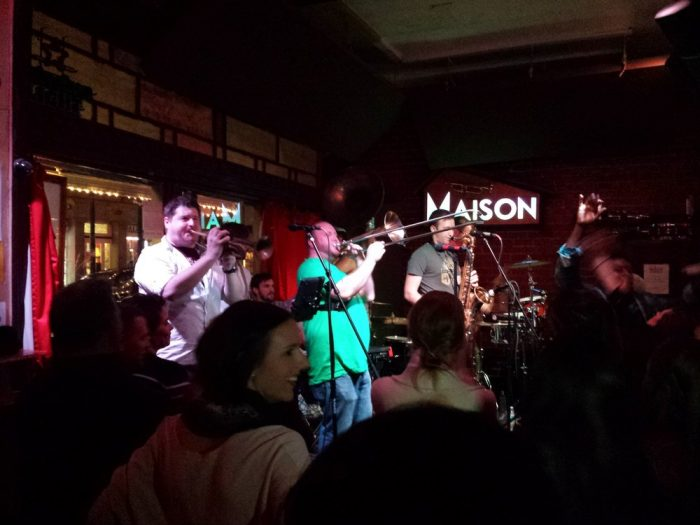 Now it's time to get your jam on at the Maison, where there are three stages and so much to enjoy!