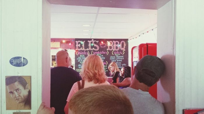 Although there's ALWAYS a line here, it goes fast. (And trust us, the food is worth the wait.)