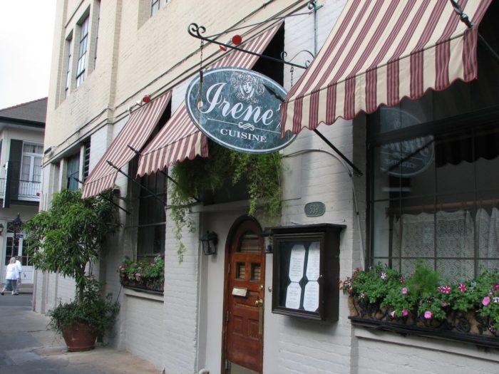 4) Irene's Cuisine, 539 St. Phillip St.