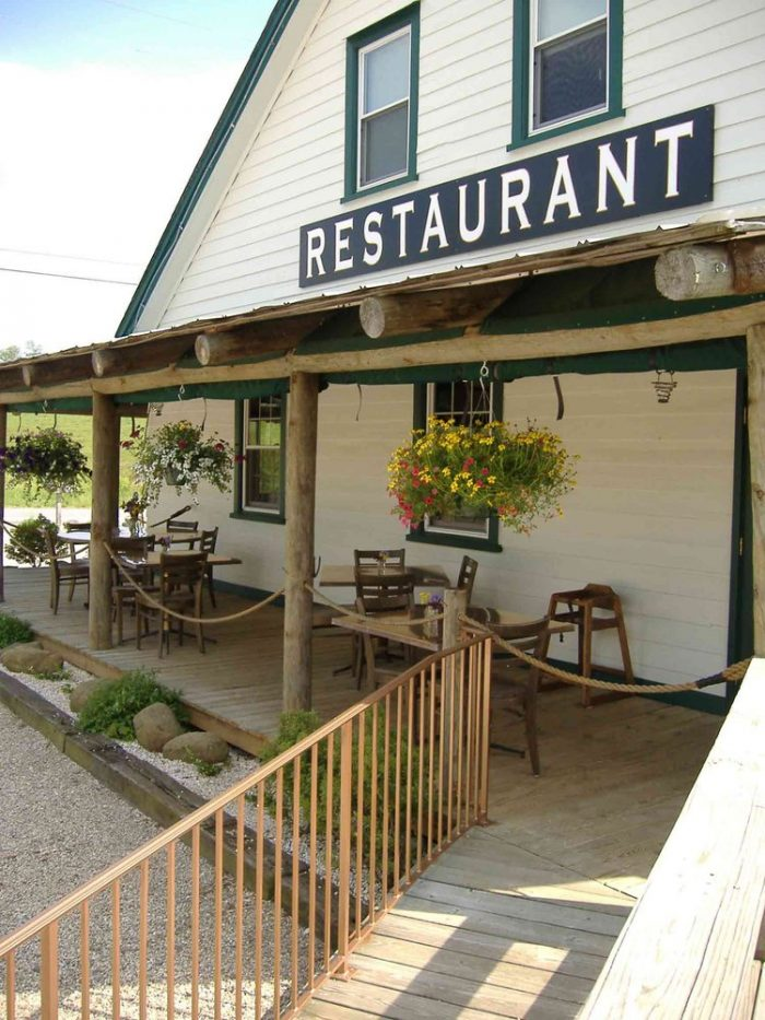 3. Bedford County: Millstone Tea Room