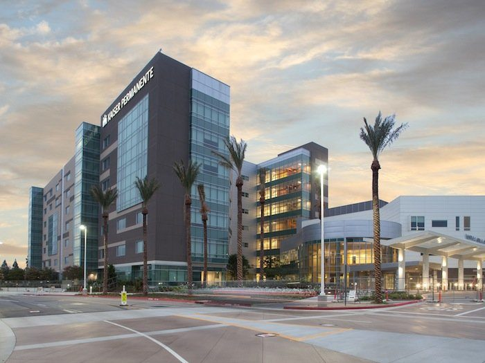 10. Kaiser Permanente Fontana and Ontario Medical Centers