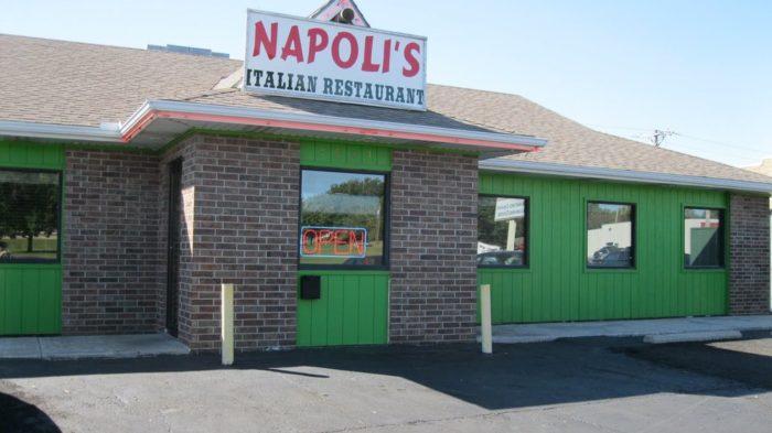1. Napoli's Italian Restaurant (Pittsburg)