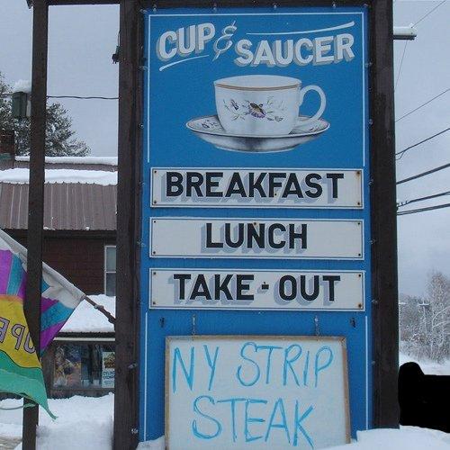 6.  Cup & Saucer Restaurant - Dover Rd, Wilmington