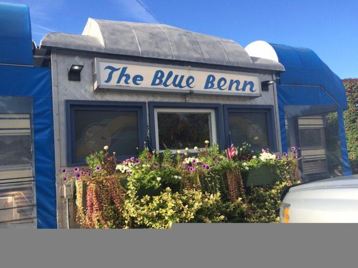 5.  Blue Benn - 318 North St Bennington