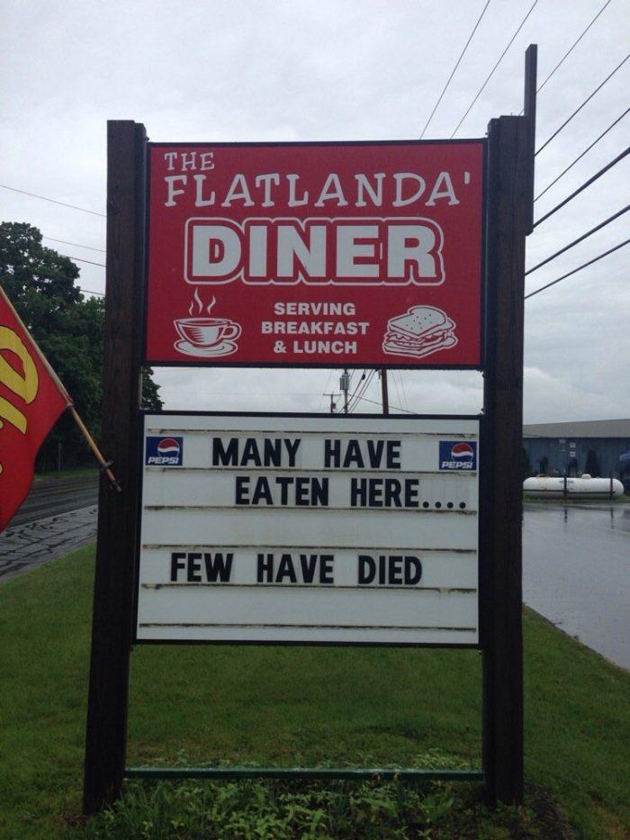 2. Flatlanda's Diner, Fairfield