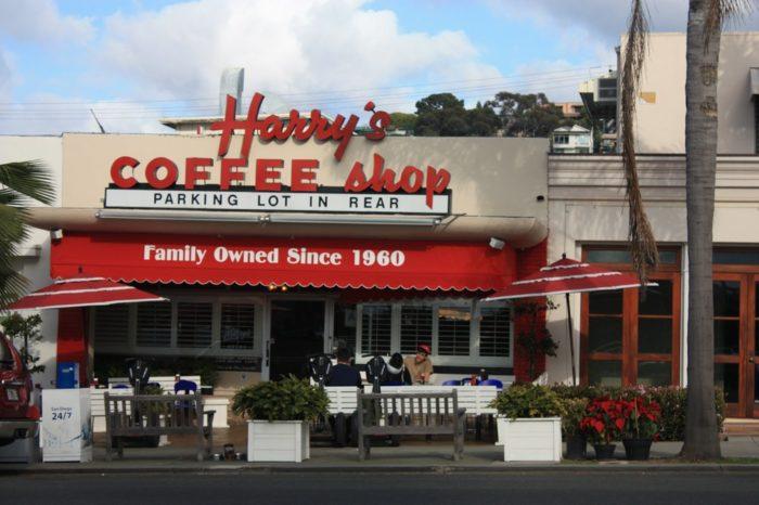 6. Harry's Coffee Shop -- La Jolla