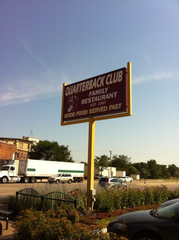 10.  Quarterback Club, Northfield