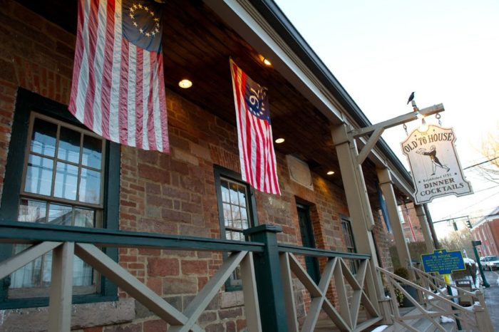 The tavern was a popular meeting location for local Patriots of the American Revolutionary War.