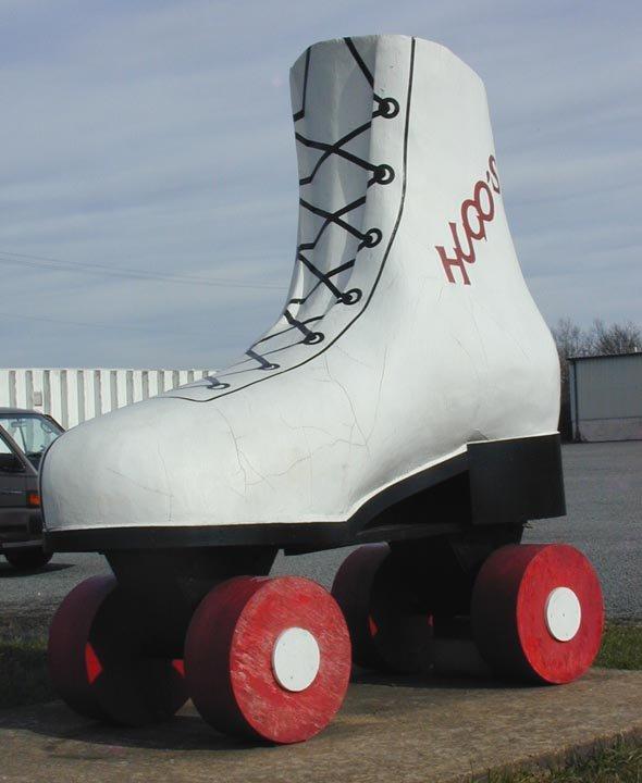 7. Giant Roller Skate (Bealton)
