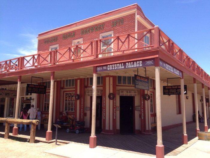 4. Crystal Palace Saloon, Tombstone