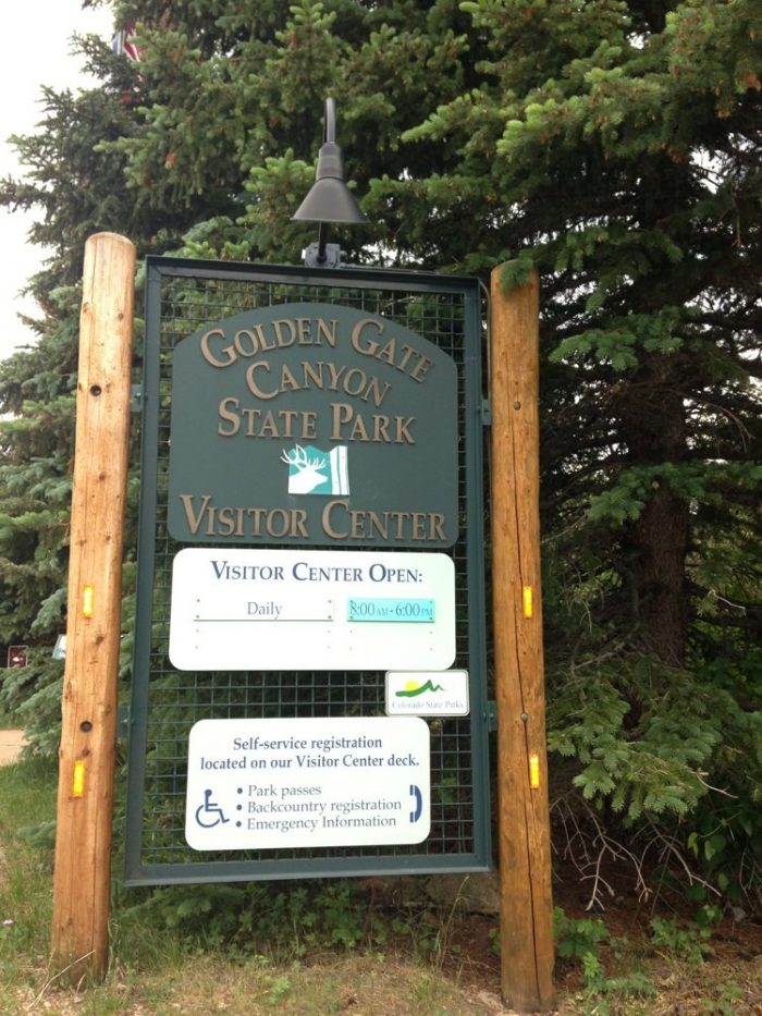 Stop in at the Golden Gate Canyon State Park Visitor Center for information on facilities, trails, attractions, wildlife, camping regulations, and special activities.