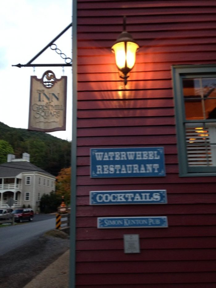 8. Warm Springs: The Waterwheel Restaurant