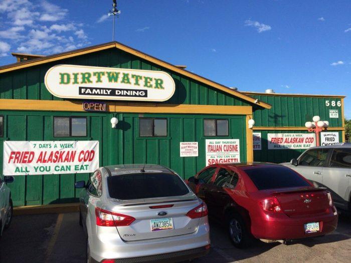 5. Dirtwater Springs Restaurant, Apache Junction